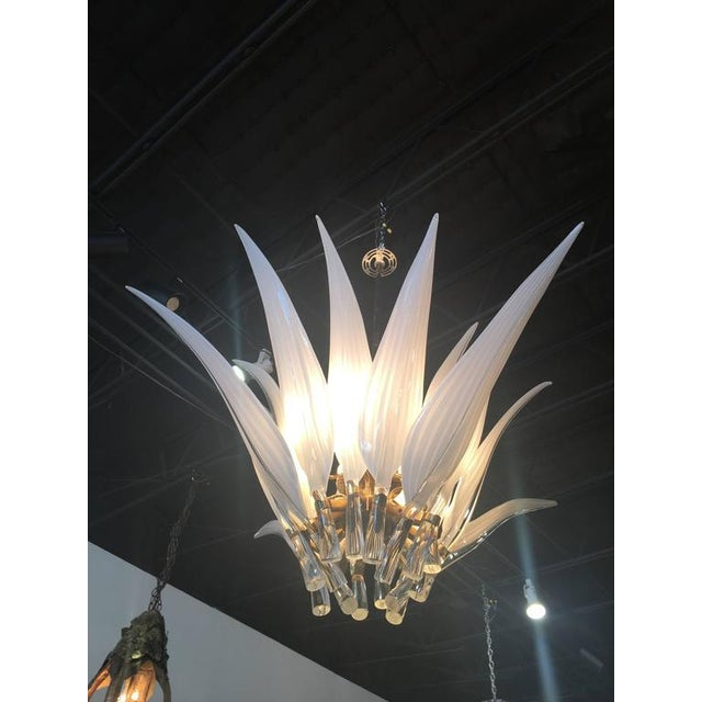 One of the most amazing vintage chandeliers I have come across! Vintage Murano Italian chandelier, made in Italy. Glass...