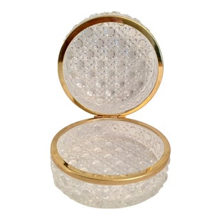 Round Glass Box For Sale