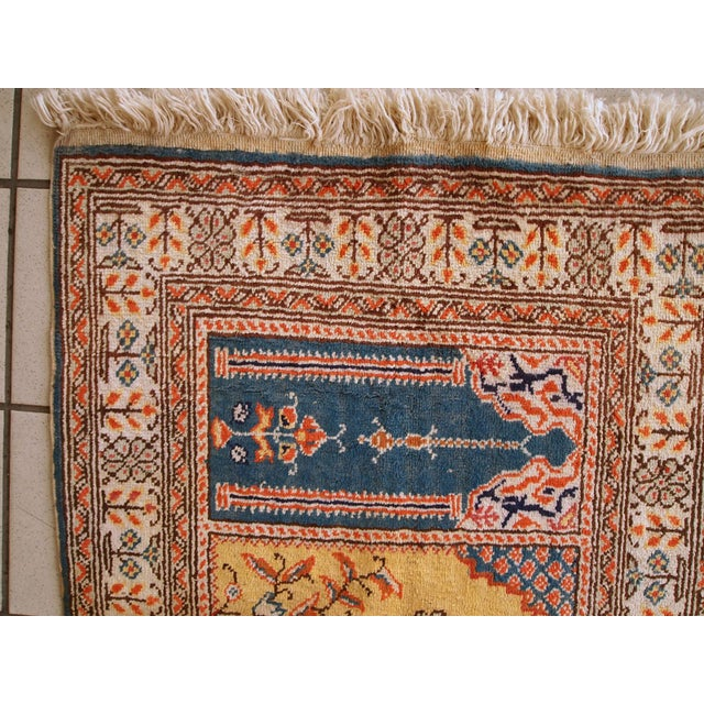 1960s Handmade Turkish Kayseri Runner - 2' X 5.6' - Image 2 of 10