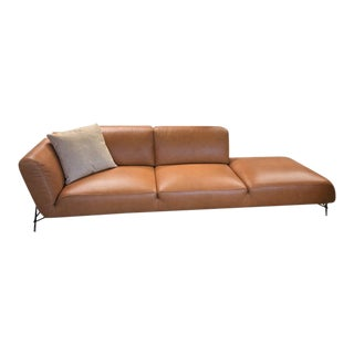 Tortona Living Sofa With Bumper End For Sale