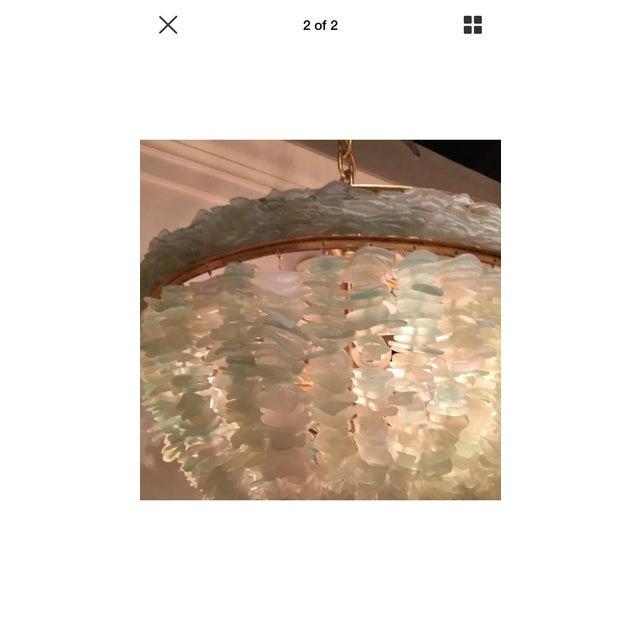 Currey & Company Bayou Sea Glass Coastal Light - Image 3 of 7