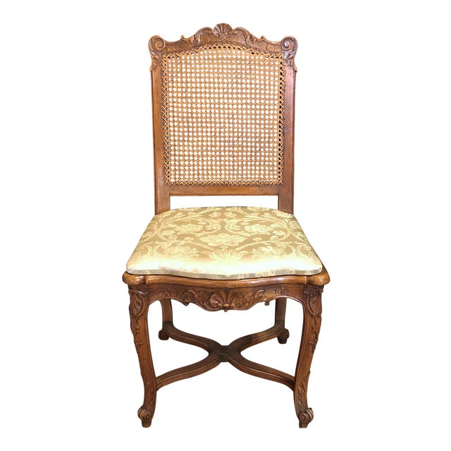 Set of 10 Antique French Walnut Carved Dining Chairs, Circa 1860-1880. For Sale