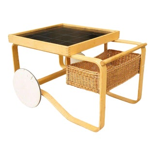 Alvar Aalto for Artek Bar Cart For Sale