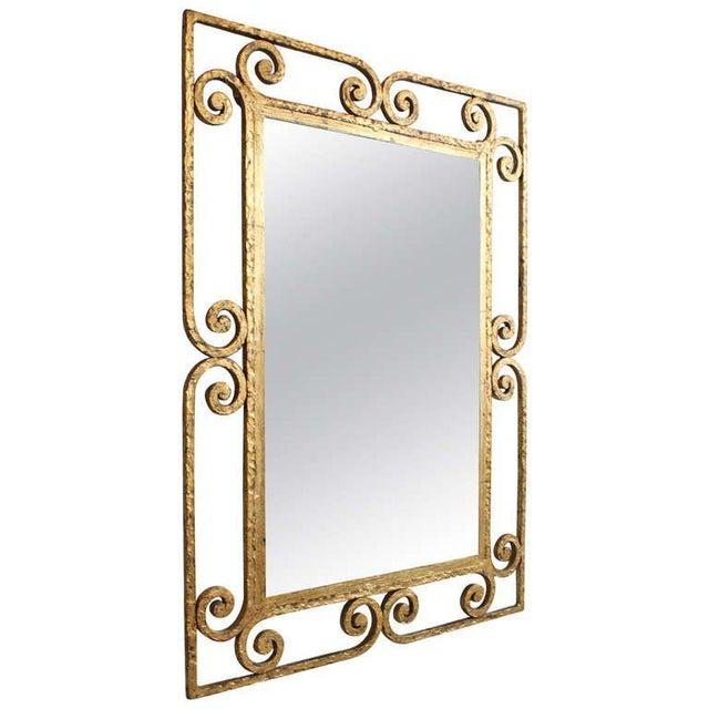 Spanish Gilt Metal Mirror - Image 10 of 10