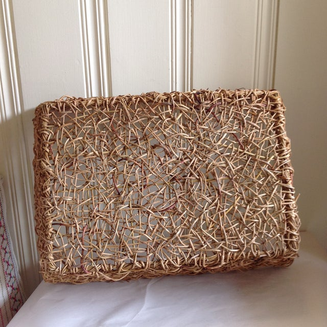 Natural Woven Twig Basket - Image 7 of 8