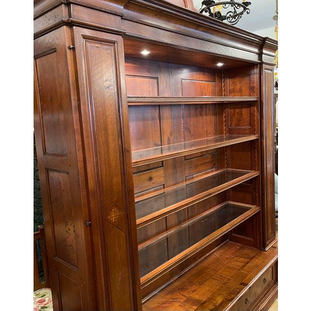 Spanish Antique Spanish Colonial Style Artitalia - Libreria Dama Open Bookcase For Sale - Image 3 of 7