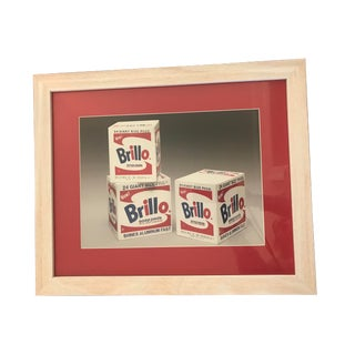 """Andy Warhol """"Brillo Boxes"""" Framed Print For Sale"""