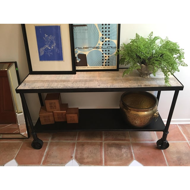 HD Buttercup Rustic Console Table - Image 5 of 7