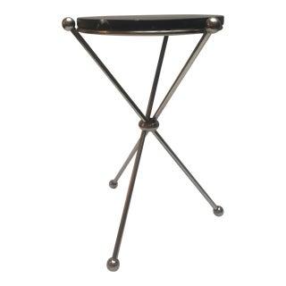 Modern Three Legged Martini Table For Sale