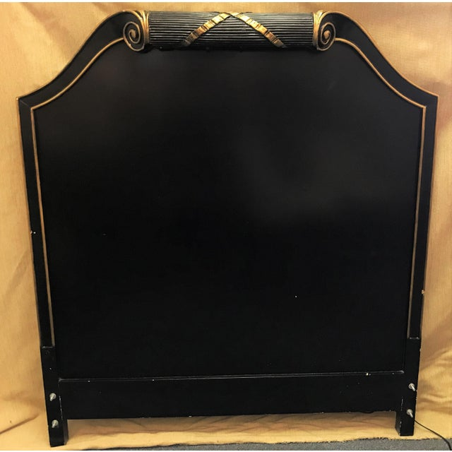 Vintage Art Deco Twin Headboard With Light For Sale - Image 13 of 13