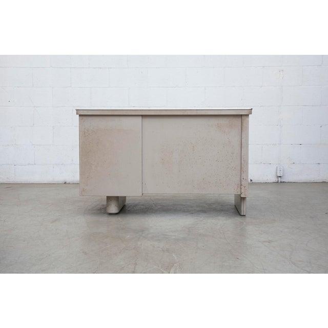 Industrial Metal Mini Tank Desk - Image 5 of 10