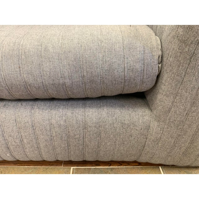 Gray Donghia by John Hutton Gray Sofa For Sale - Image 8 of 13