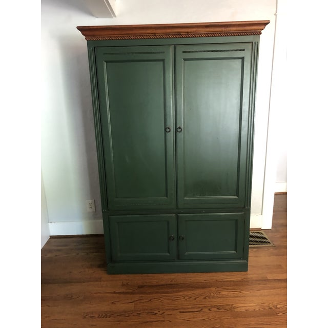 Ethan Allen Country Crossings Tv Armoire For Sale - Image 12 of 12