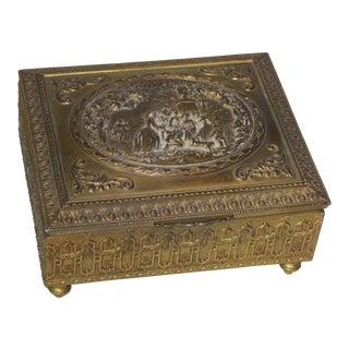 Brass Jewelry Box