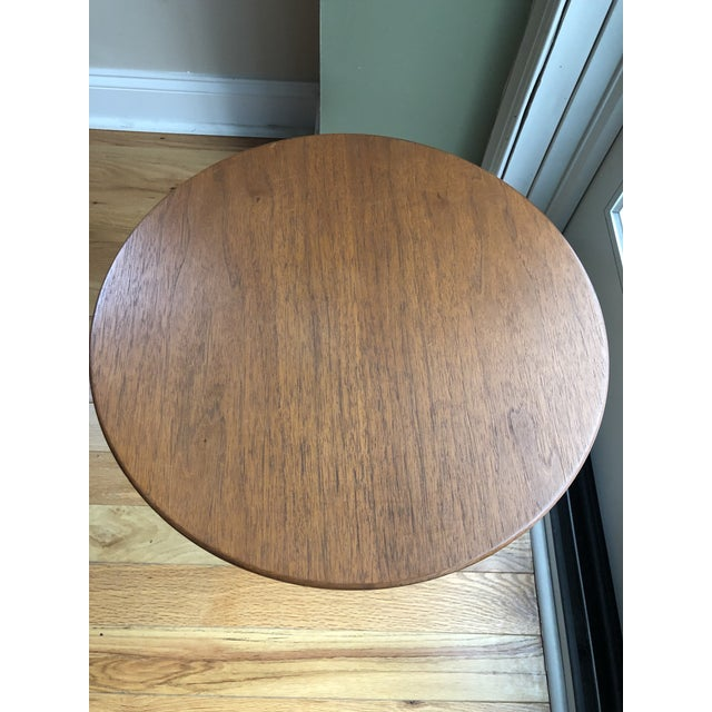 Brown Saarinen for Knoll Tulip Table For Sale - Image 8 of 8