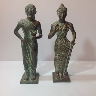 Mid Century Ugo Zaccagnini Figures - Pair Preview