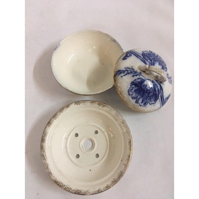 Blue Ironstone Soap Dish - Image 5 of 7