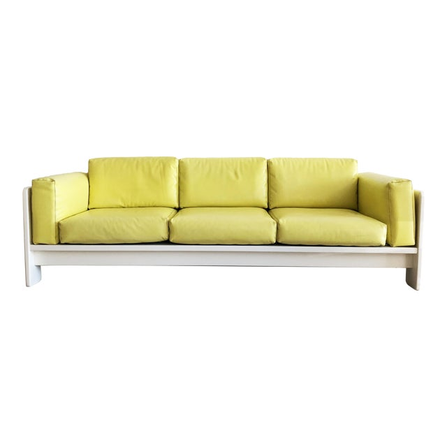 "1970s Vintage Tobia Scarpa for Knoll ""Bastiano"" 3 Seater Sofa For Sale"