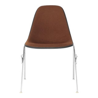 1960s Vintage Eames for Herman Miller Upholstered Shell Chair For Sale