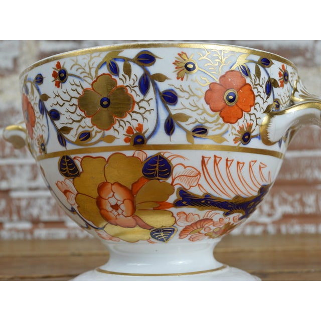 19th Century Crown Derby Old Japan Footed Bowl - Image 4 of 10