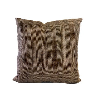 """Lg African Kuba Pillow 22.5"""" by 23"""" For Sale"""