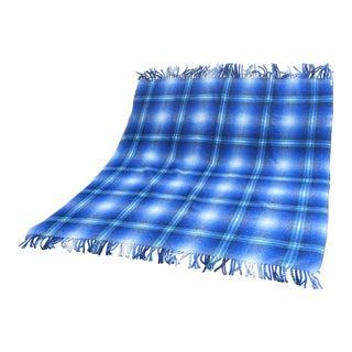 1960s Vintage Wool Blanket For Sale