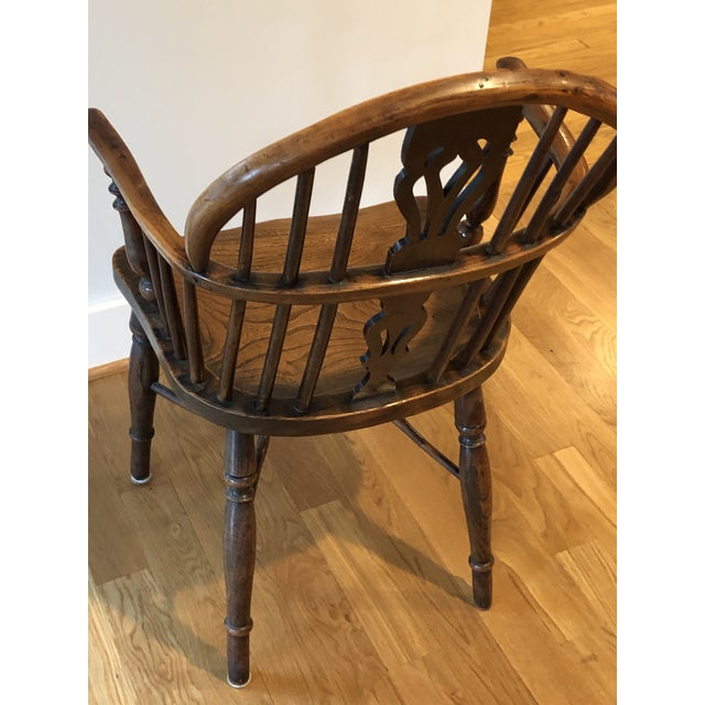 Mid 19th Century Wheatland Rockley Windsor Chair For Sale - Image 4 of 13