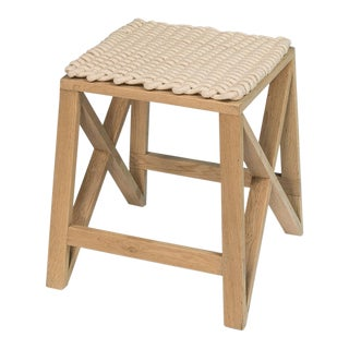 Oak Spanning Stool For Sale