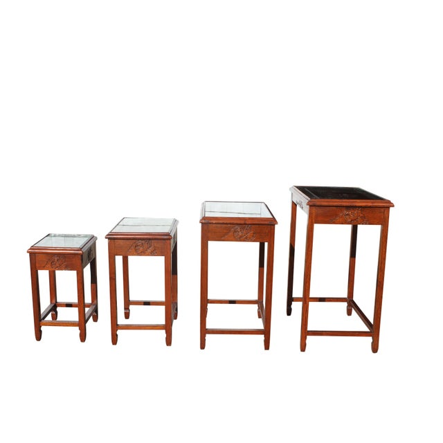 Mid-Century Modern Nesting Tables For Sale In Boston - Image 6 of 13