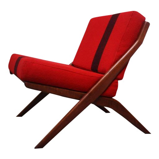 Swedish 'Scissor' Chair by Folke Ohlsson for DUX - Image 1 of 10