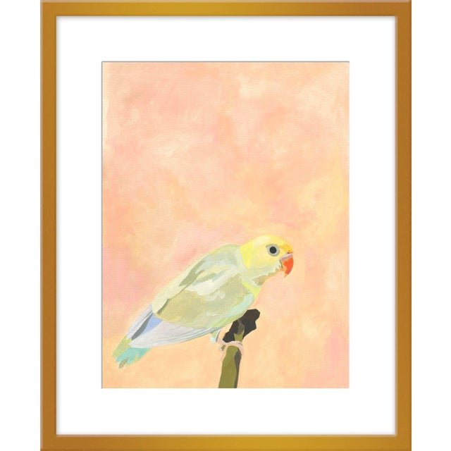 """Contemporary Medium """"Opal"""" Print by Neicy Frey, 25"""" X 31"""" For Sale - Image 3 of 3"""