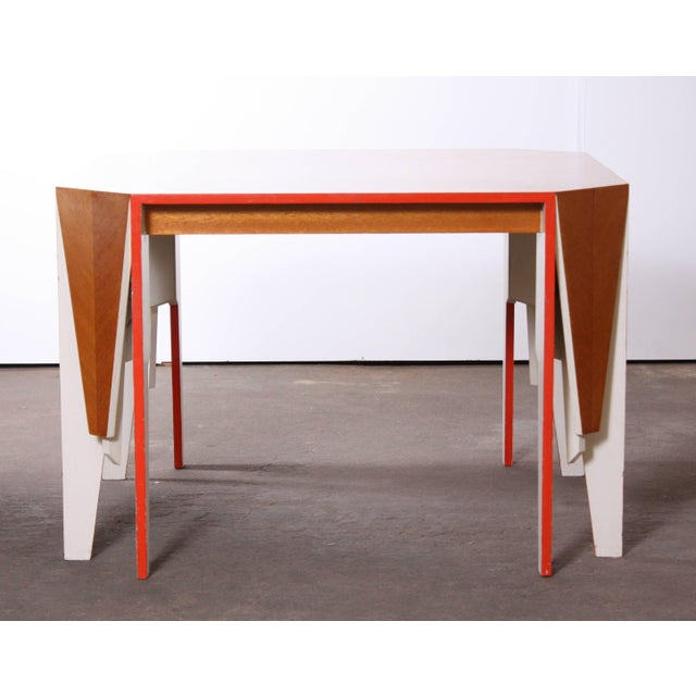 Modern Architectural Dining Table - Image 2 of 8