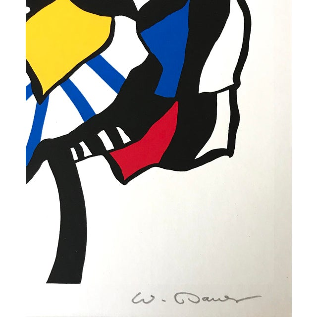 Lithograph 1983 - Wolf Bauer - Hand Signed Lithograph For Sale - Image 7 of 9