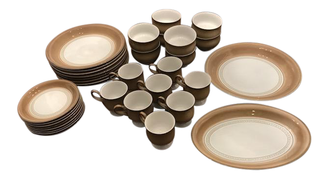 Denby Seville Dinnerware Set - Set of 8  sc 1 st  Chairish & Denby Seville Dinnerware Set - Set of 8 | Chairish