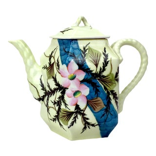 Rs Prussia Floral Detail Teapot For Sale