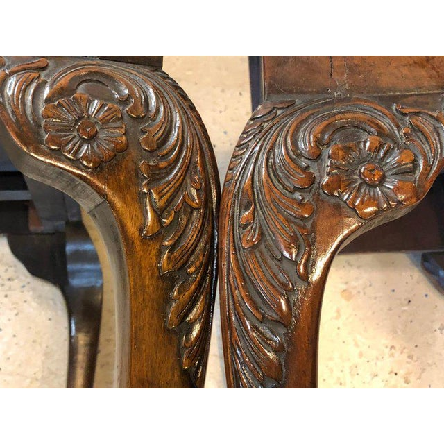 Pair of 18th-19th Century Georgian Compatible Card / Game or Flip Top Tables For Sale - Image 10 of 13