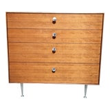 """Image of Mid Century Modern George Nelson """"Thin Edge"""" Chest For Sale"""