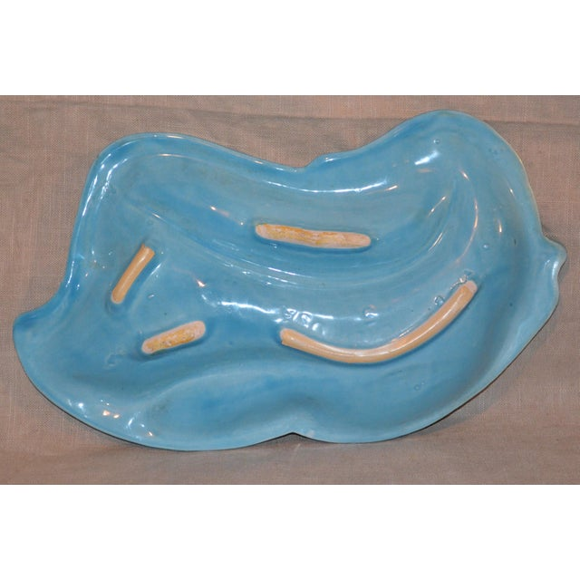 1950s California Pottery Ashtray For Sale - Image 5 of 6