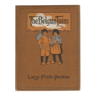 "1917 ""The Belgian Twins"" Collectible Book For Sale"
