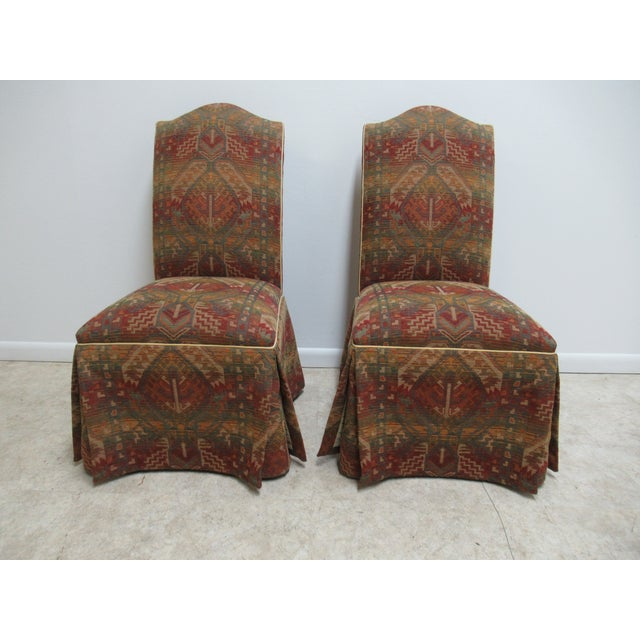 Ethan Allen American Impressions Parson Dining / Side Chairs - a Pair For Sale - Image 11 of 11