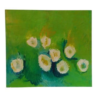 1970s Vintage Expressionistic Painting