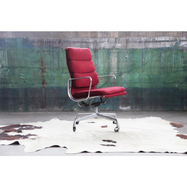 Materials Chrome, Wool, vintage aluminum group, Metal, textile, lounge chair, accent chair, side chair, Alexander Girard,...