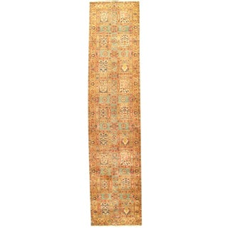 Pasargad Indo Agra New Zealand Wool Rug - 3′ × 14′3″ For Sale