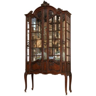 French Louis XV China Cabinet For Sale
