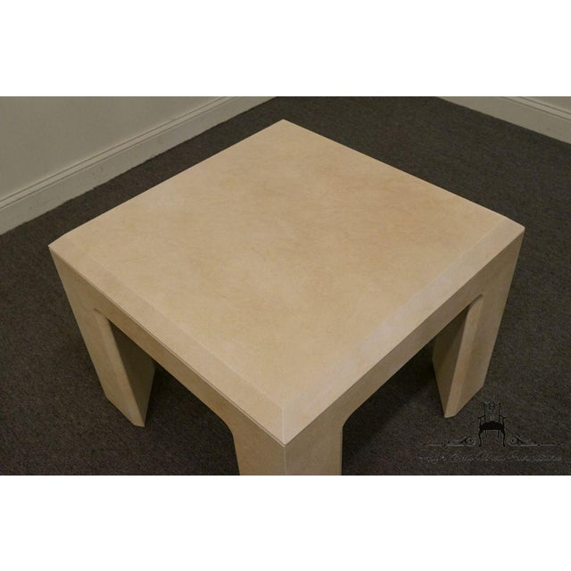 """Lane Furniture Contemporary Style 28"""" End Table For Sale - Image 9 of 13"""
