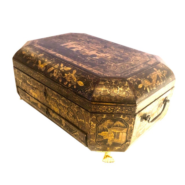 19th Century Chinese Work Box For Sale In Tampa - Image 6 of 6
