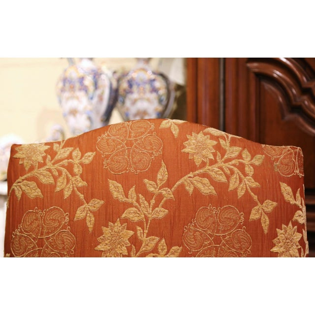 Wood 19th Century Louis XV Carved Walnut Armchairs From Provence - a Pair For Sale - Image 7 of 13