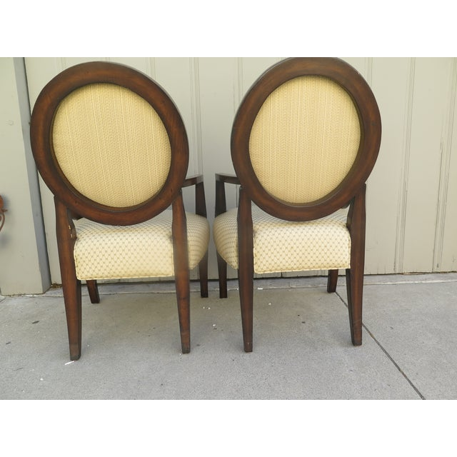 Regency Vintage 1980s A. Rudin Regency Style Side Chairs- A Pair For Sale - Image 3 of 7