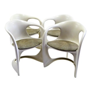 Casalino Chairs by Alexander Begge for Casala, Germany 1970s