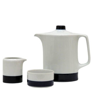 1960s Small Coffee Set 'Novum 65', Lorenz Hutschenreuther - Set of 3 For Sale